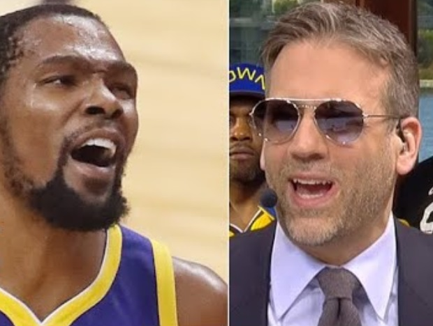 Warriors Fans Go Savage on Max Kellerman Before 'First Take