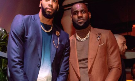 LeBron James Reportedly Gifting Anthony Davis a Big Welcome Present