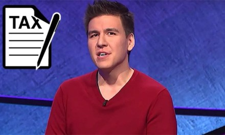 Here's How Much James Holzhauer of 'Jeopardy' Owes In Taxes