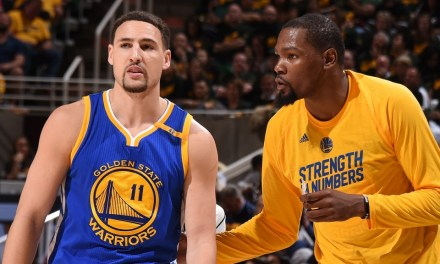 Klay Thompson Pays Tribute To Kevin Durant Before Game 6