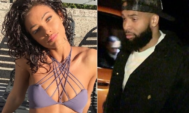 Odell Beckham Jr. Spotted Giving Girlfriend Lolo Wood A Ride From the Club