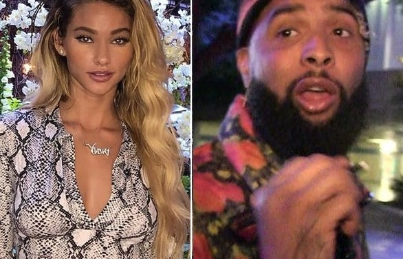 Odell Beckham Jr. Spotted  in London With his 'Girlfriend' Lolo Wood
