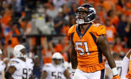 Broncos Linebacker Carted Off the Field During First Day of Training Camp