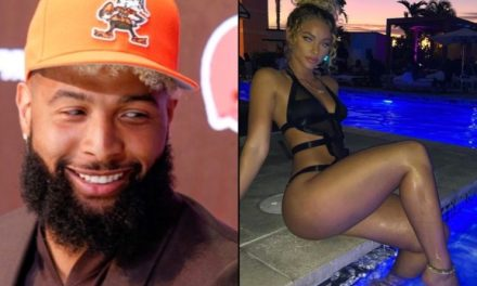 Odell Beckham Jr. and Girlfriend Lolo Wood Hit up The Nice Guy