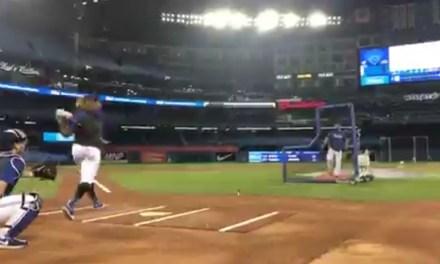 You've Been Warned Vladimir Guerrero Jr. is Practicing for the Home Run Derby