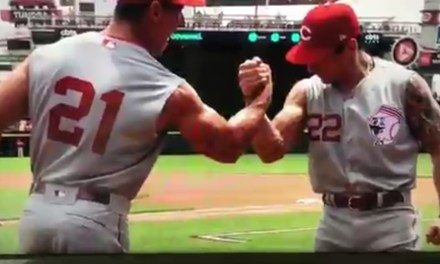 Reds Announcer Drops N-Word During Broadcast Trying to Say Arnold Schwarzenegger