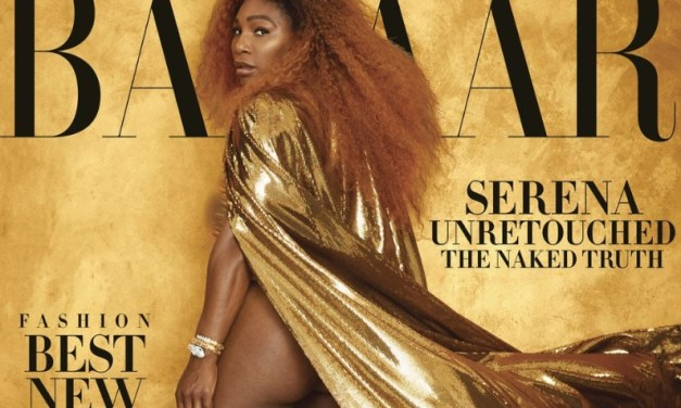 Serena Williams Poses in Unretouched Photo Shoot and Reveals Apology to Naomi Osaka