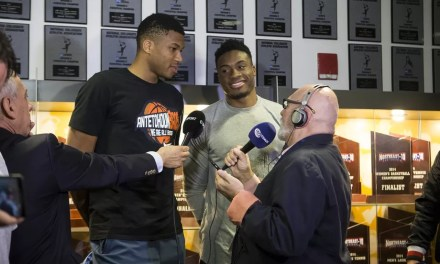 The Greek Freak's Older Brother Thanasis to Sign With Bucks