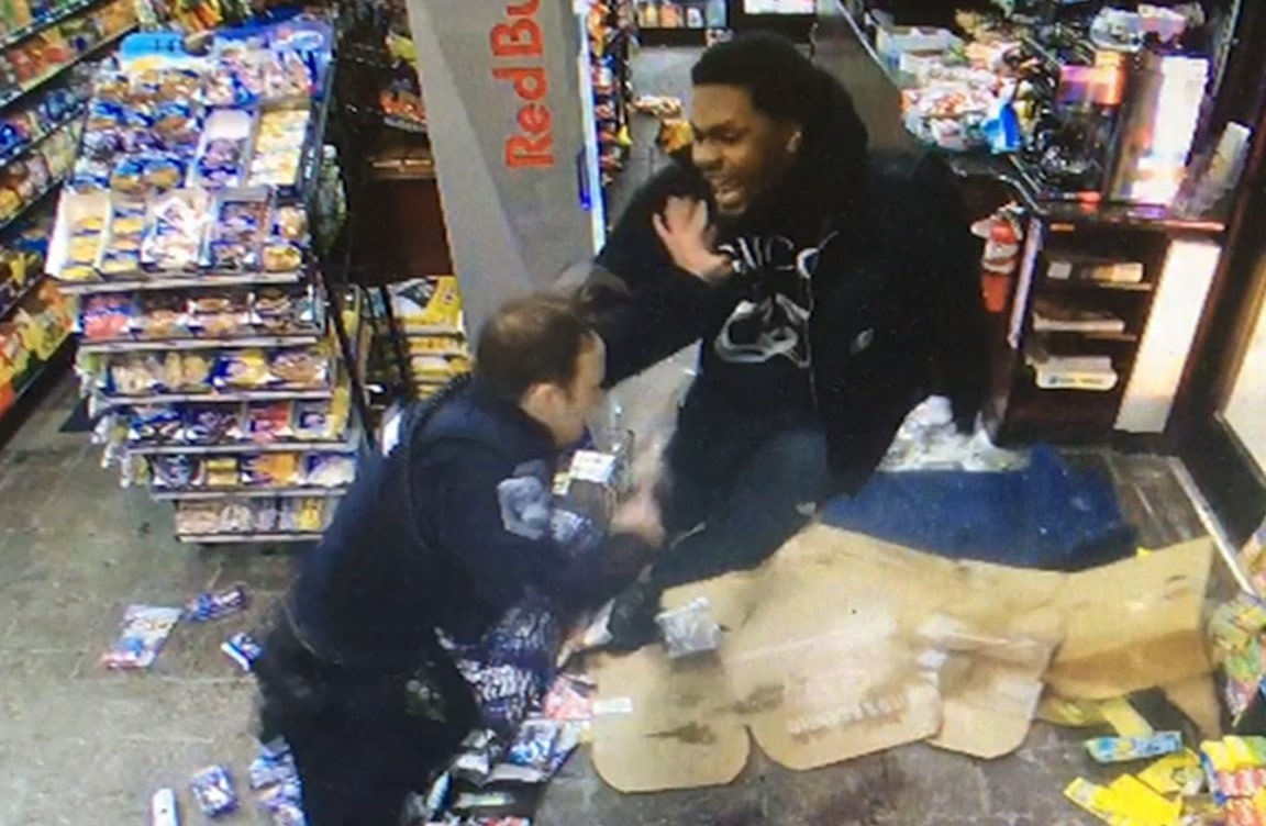 Watch NFL's Malik McDowell Tased During Crazy Fight With Police Officer
