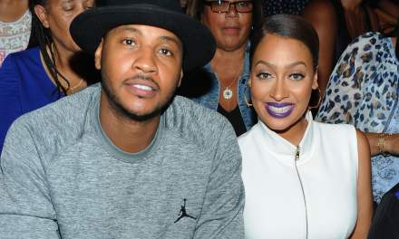 Carmelo and La La Anthony Grab Dinner as Cheating Rumors Swirl