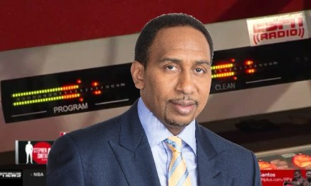 Stephen A. Smith Got Chippy With a Caller When He Brought up Carmelo Anthony's Name