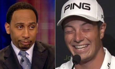 PGA Player Viktor Hovland Imitates Stephen A. Smith's Signature Catchphrase