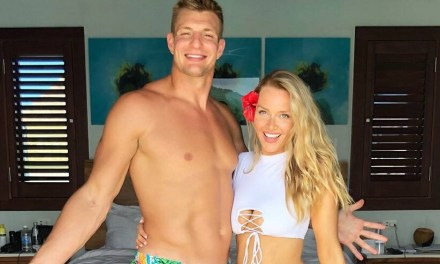 Rob Gronkowski Reportedly 'Hasn't Lifted' Since Retiring in Late March