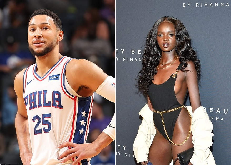 Ben Simmons Sets the Record Straight on Duckie Thot Dating Rumors