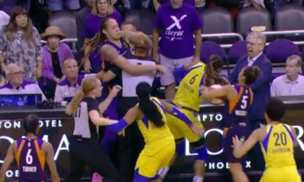 5 Players Ejected After Brawl Erupts During Phoenix-Dallas WNBA Game