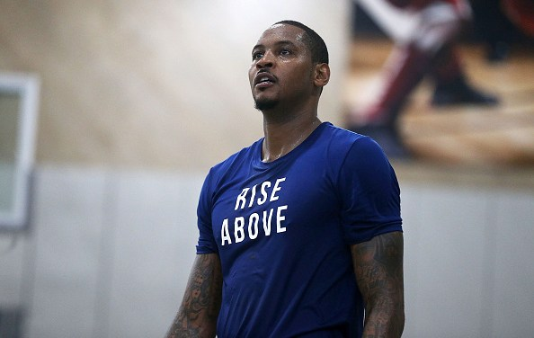 Kyrie Irving and Kevin Durant are Pushing for the Nets to Sign Carmelo Anthony