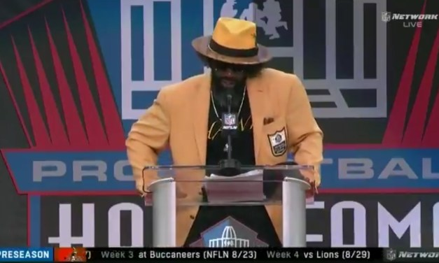 Ed Reed Accidentally Thanked Bill Belichick During His Hall of Fame Speech