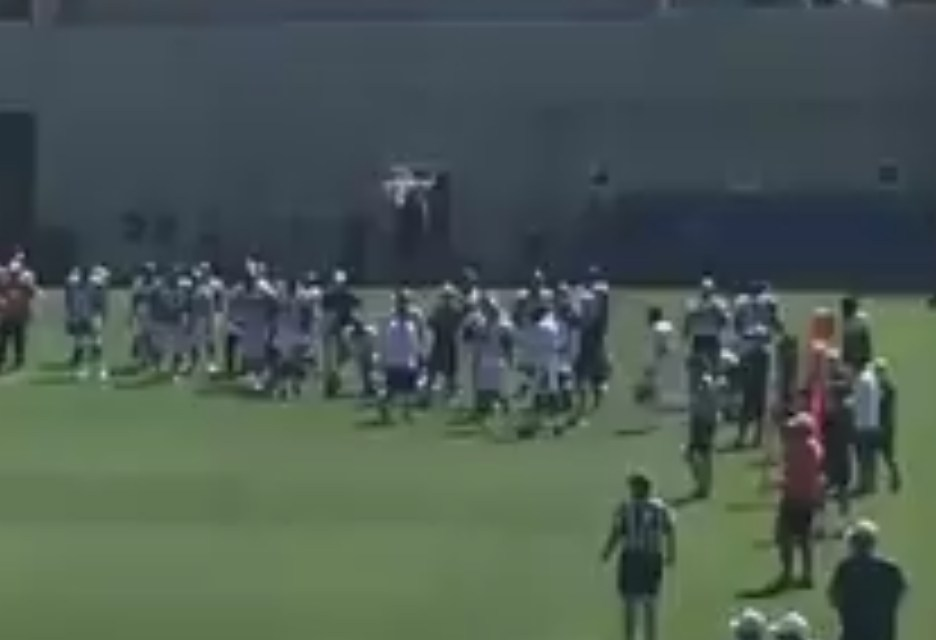 Video Surfaces of Broncos Receivers Emmanuel Sanders and Courtland Sutton Fighting During Practice