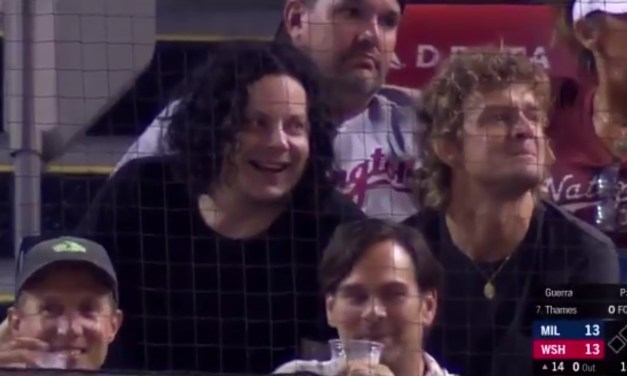 Jack White's Band Showed Up to a Nationals Game, Left to Play a Show, then Returned for Extra Innings