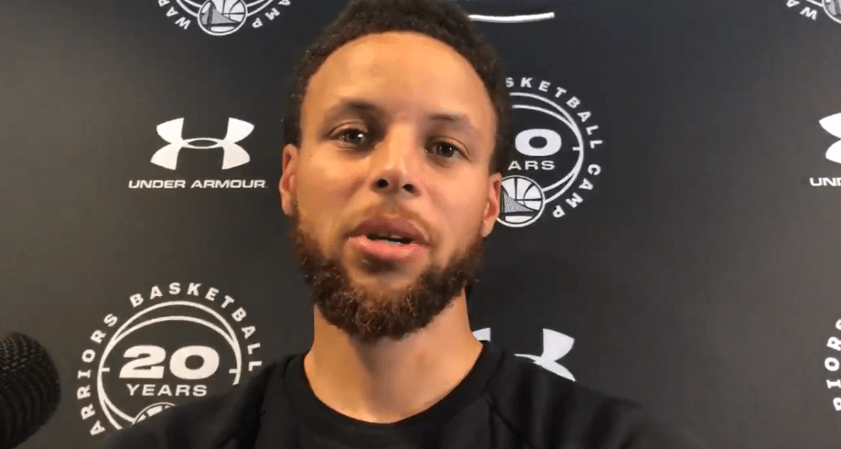 Stephen Curry On His Final Meeting With Kevin Durant