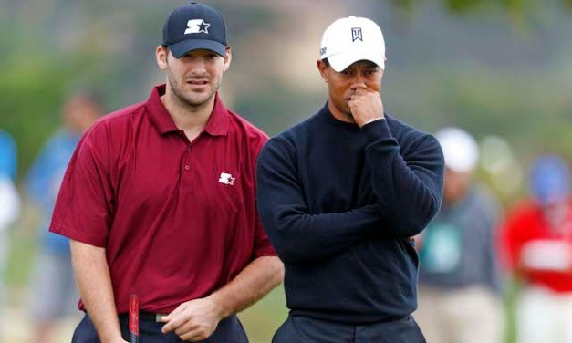 Tony Romo Claims He Can Beat Tiger Woods