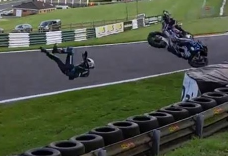 Injured Superbike Racer Shares Footage of Spectacular Crash