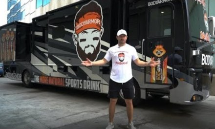 Newly Minted BodyArmor Stakeholder Baker Mayfield Gives Tour of RV