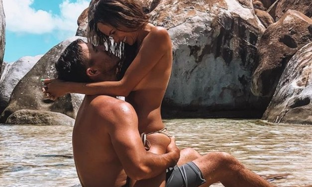 Brooks Koepka Shares Story Behind Viral Photo with Girlfriend Jena Sims