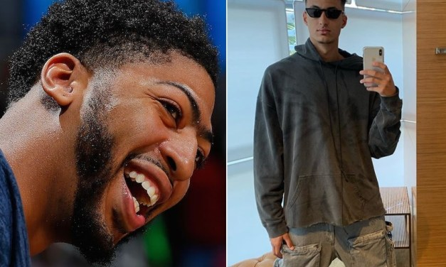 Anthony Davis Roasted Teammate Kyle Kuzma's Outfit