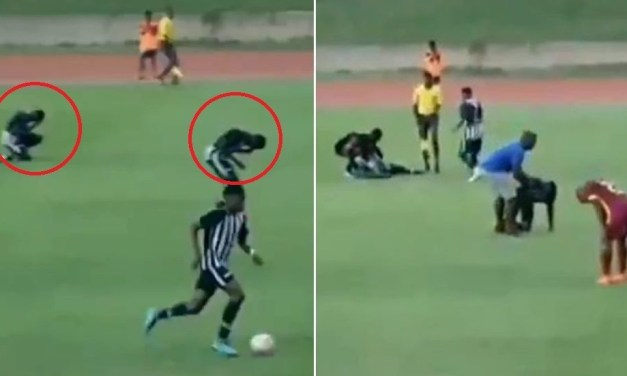 Soccer Players Struck by Lightning During Match