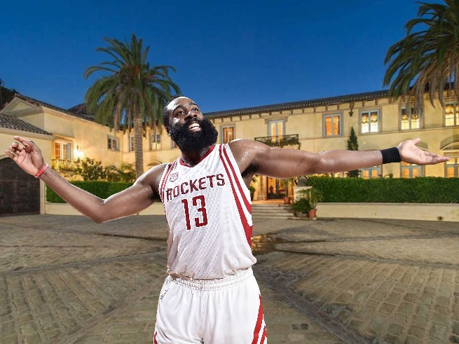 James Harden Allegedly Being Sued for Turning $30M Mansion into a Party House