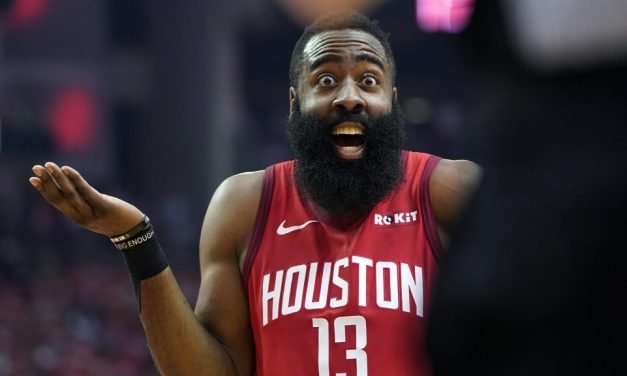 James Harden Is Not the First Pro Basketball Player to Do The 'One-Legged Three'