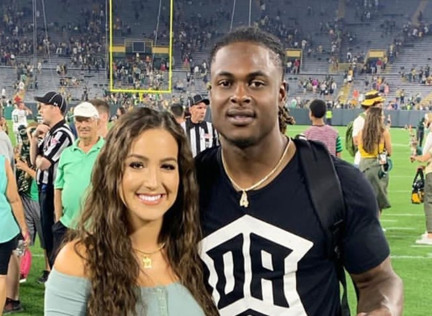 Packers Wr Davante Adams Wife Is Very Pregnant Sports Gossip