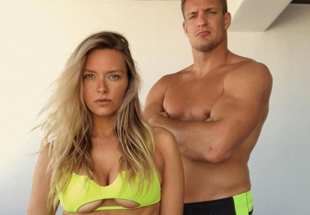 Gronk's Girlfriend Camille Kostek is Too Busy to Marry Him Right Now
