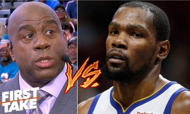 Kevin Durant Deletes Tweet Responding To Magic Johnson's Happiness Comments