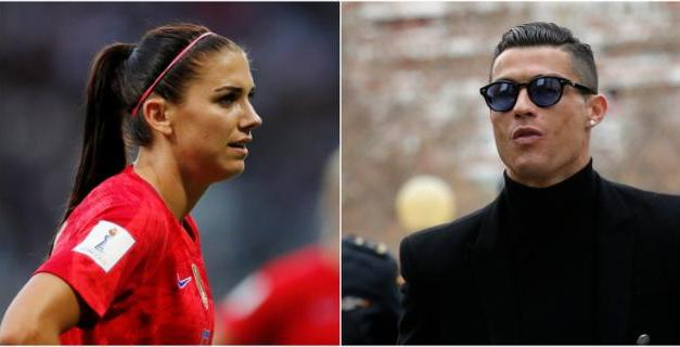Alex Morgan Doubles Down on Rape Allegations Made Against Cristiano Ronaldo