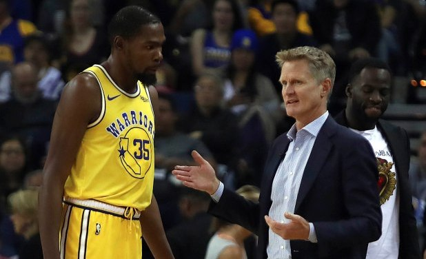 Steve Kerr Finally Responds To Kevin Durant's Criticism Of Warriors