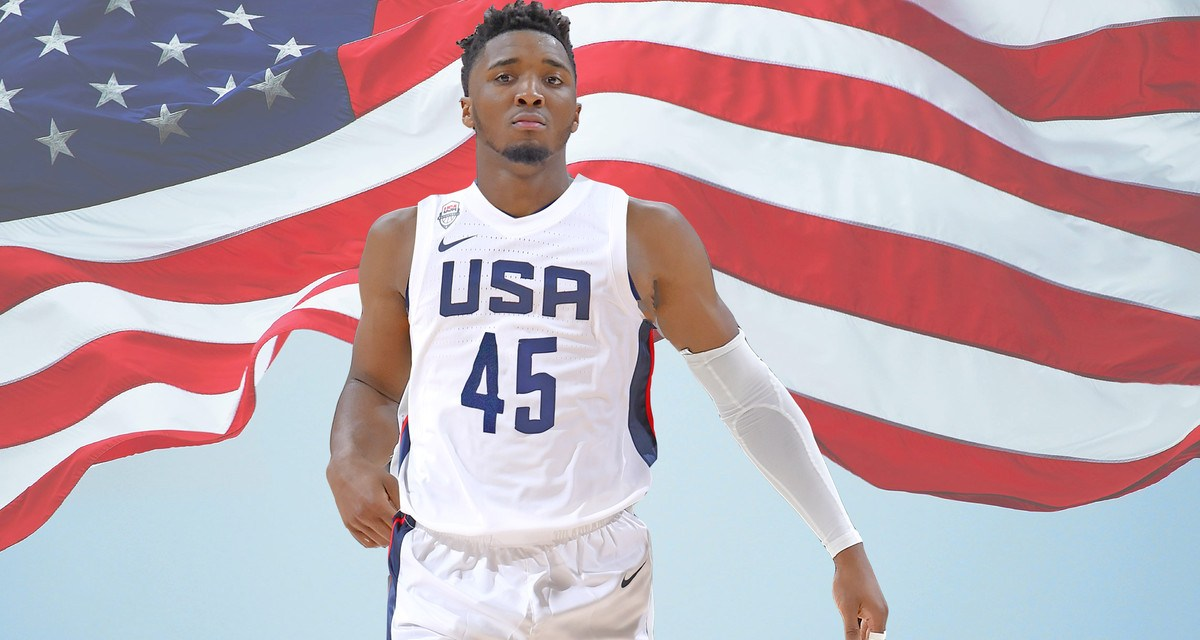 Donovan Mitchell Throws Some Shade at Players Who Didn't Want to Play on Team USA