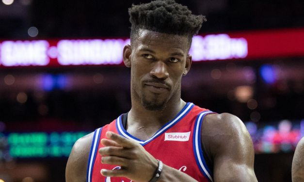 Is this Video of Jimmy Butler and His Alleged Baby Momma Arriving in Miami?