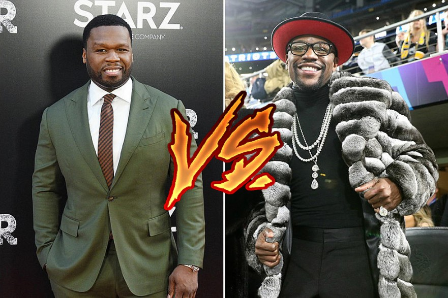 50 Cent Roasts Floyd Mayweather Over His Fashion Choices