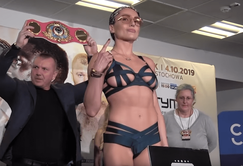 Sexy Boxer Blasts Back at Those Saying Lingerie Kiss at Weigh in was 'More Interesting' than Fight
