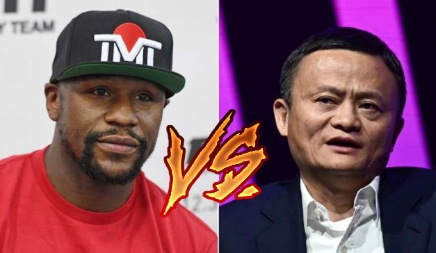 Billionaire Jack Ma Challenges Floyd Mayweather to a Fight