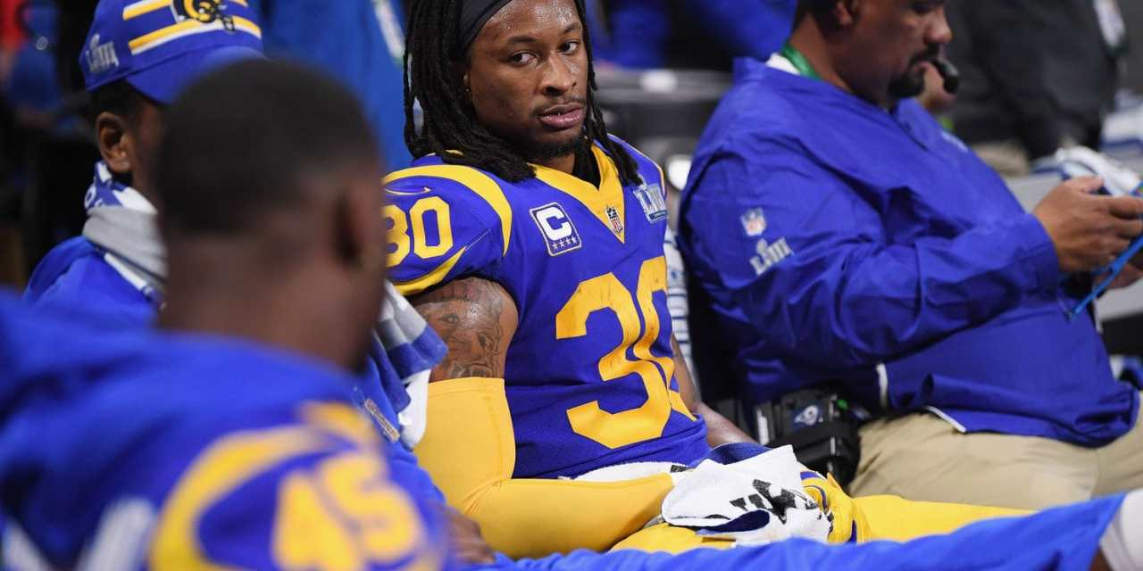Todd Gurley Missed Practice on Wednesday Due to an Injury