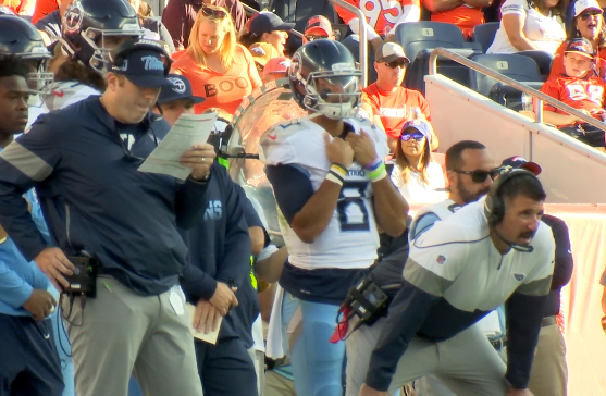 Titans Bench Marcus Mariota During Loss to the Broncos