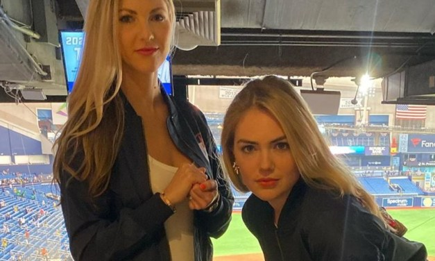 Kate Upton and Amy Cole Recreate Their Husbands' Sports Illustrated Cover