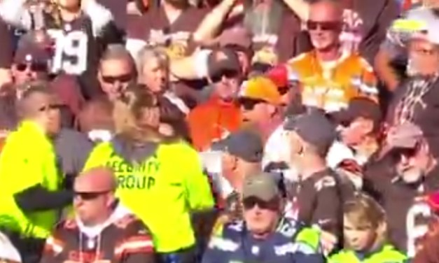 Browns Fan Ejected at the End of Loss to the Seahawks After a Security Guard Was Hit With an Object