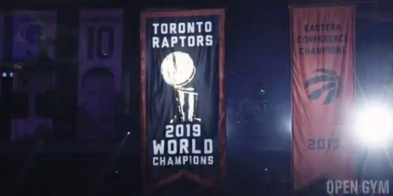 The Raptors Opened the Season With a Ring Ceremony and a Win