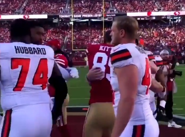 Here is the Moment That Baker Mayfield Allegedly 'Snubbed' Richard Sherman's Handshake