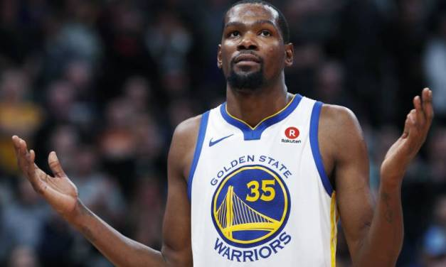 Kevin Durant Drops an F-Bomb While Arguing with an Analytics Guru