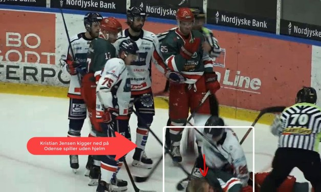 Hockey Player Charged by Police For Breaking Bone in Opponent's Face